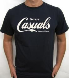 Weekend Offender - Terrace Casuals T-shirt in Navy