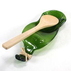 DIY Beer Bottle Spoon Rest.