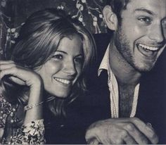 Jude Law and Sienna Miller.