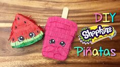 DIY Shopkins Pinata Tutorial--Using recycled materials for the pinata foundation I will show you how to make this adorable Shopkins piñata. This is a great craft to make with your children. It makes awesome party favors or you could even scale the piñata up to make a large piñata.
