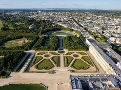 Château de Versailles - Le Parterre Nord