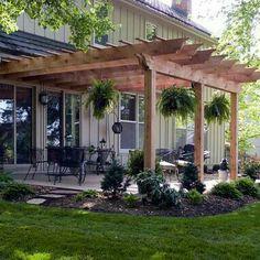 Cheap backyard ideas for teens 2382290699 #backyardideasWithRocks Pergola Canopy, Pergola With Roof, Wooden Pergola, Backyard Pergola, Pergola Shade, Backyard Landscaping, Cheap Pergola, Landscaping Ideas, Covered Pergola