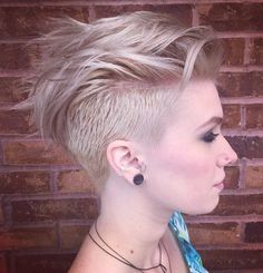 Fauxhawk For Girls