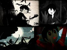 Marshall Lee The Vampire King Collage by RueQu on deviantART