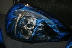Grim Reaper airbrush - Bing Images