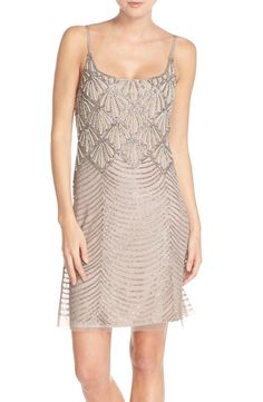 Beaded Mesh Slipdress - perfect #bachelorette party dress