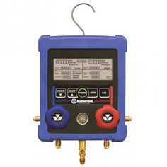 #Mastercool 99103-A-2 2-Way #HVAC Digital #Manifold  displays Pressures, Saturated Temperatures, Actual temperatures, Superheat and Subcooling temperatures for over 60 refrigerants. ON SALE! Learn more and SHOP: http://www.valuetesters.com/mastercool-99103-a-2-2-way-hvac-digital-manifold.html