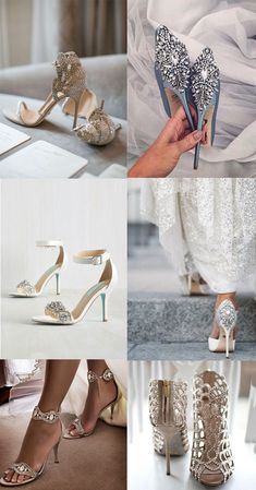 Elegant wedding shoes collection