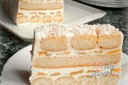 Fantastický dort MARGOT | NejRecept.cz Vanilla Cake, Rum, Cheese, Food, Cakes, Vanilla Sponge Cake, Meal, Essen, Hoods