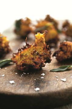 the chew | Recipe | Michael Symon's Spaghetti Squash Fritters