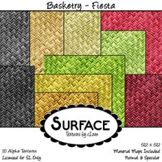 Surface - Basketry - Fiesta Contact | Flickr - Photo Sharing!