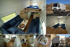 DIY Inspiration - Convert A Massive Truck Into An RV
