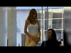 Claudia Schiffer - dance class - by Supermodels Channel - YouTube