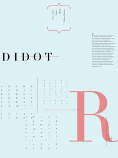Typeface Poster Series - clchappelle