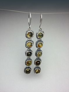 Sterling Silver, Amber