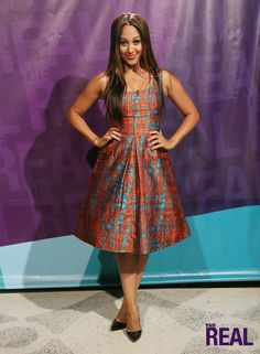 """""""The Real"""" Style Breakdown: Oct. Work Fashion, Fashion Beauty, Tamera Mowry, Ankara Dress Styles, Street Trends, Expensive Clothes, Summer Outfits, Summer Dresses, Real Style"""