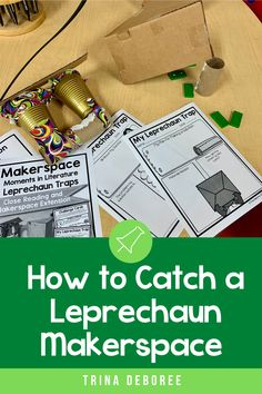 How to Catch a Leprechaun is an adorable book that focuses on story structure, language, vocabulary, and rhyming. Add a Makerspace activity and bring creativity and critical thinking into the mix as well as engage and motivate learners. Students will focus on close reading activities and then work through the Engineering Design Model to create traps to catch a Leprechaun. Stem Teaching, Teaching Activities, Preschool Activities, Teaching Ideas, Close Reading Activities, Spring Activities, Holiday Activities, Story Structure, Reading Comprehension Passages
