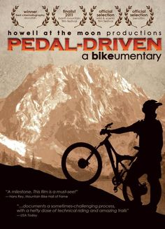 This films explores the escalating conflict between mountain bikers hungry to ride and the federal land managers charged with protecting the public lands. It will take you behind both sides of this confrontation, riding with the freeriders and chasing them down with the rangers, in an exploration of issues increasingly important to all Americans. 63 min. http://highlandpark.bibliocommons.com/search?utf8=%E2%9C%93&t=smart&search_category=keyword&q=pedal+driven&commit=Search