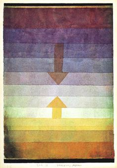 Paul Klee painting but good inspiration.
