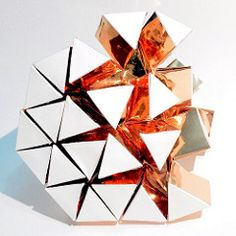 (mike.tanis) Tags: sculpture art geometric architecture paper design origami geometry surface kinetic hexagon kirigami papercraft