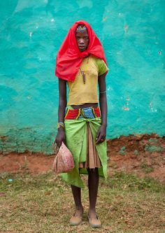 Banna tribe girl in Key Afer - Ethiopia
