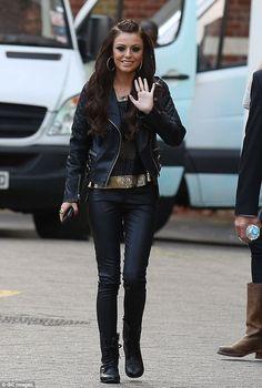 Kind words: Cheryl Fernandez-Versini's former X Factor protégé, Cher Lloyd, has defended h...