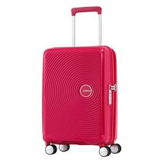 American Tourister Curio 20 Hardside Spinner (Pink)