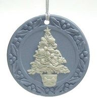 Wedgewood Blue Christmas Ornament