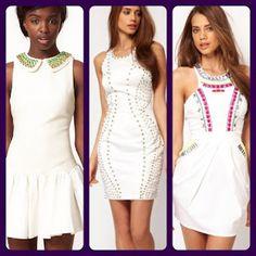 white dresses.    http://quinntessentialme.blogspot.com/