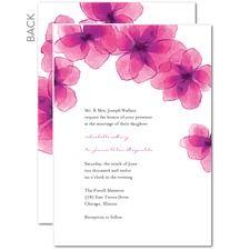 Dreamy Destination Wedding Invitations