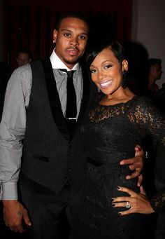 MSU Alum Shannon Brown! Husband to Monica. Cute couple.
