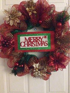 Hey, I found this really awesome Etsy listing at https://www.etsy.com/listing/202728519/18-inch-christmas-wreath-with-led-red