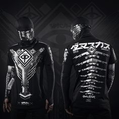 Augmented Reality V2 Cyberpunk shirt – Damascus Apparel