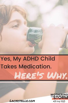 Yes, we chose medication for our ADHD child. Here is the why and the reasons we wern't always certain. Parent Board, Adhd Medication, Adhd Help, What Was I Thinking, Adult Adhd, Coping Mechanisms, Adhd Kids, Behavioral Therapy
