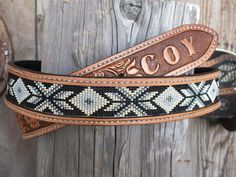 Mens+or+Ladies+Beaded+Leather+Belt+by+Deesbeadeddogcollars+on+Etsy,+$170.00