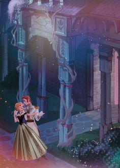 Frozen~Anna and Hans