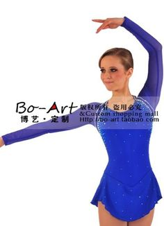 BOART hot sales Ice Skating Dress Beautiful Figure skating dress New Brand Competition customize A1162 US $115.00