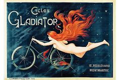 Cycles Gladiator poster.
