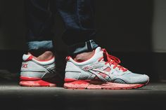 The Asics Gel-Lyte V Dons Red Tones For Bright Pack