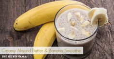 Here's a simple smoothie that will leave you feeling full and satiate that sweet tooth. Made with a few simple ingredients, such almond butter, banana and cocoa powder, this delicious smoothie can be made vegan or Paleo by replacing the cow's milk with almond milk or coconut milk. This smoothie is naturally gluten free.