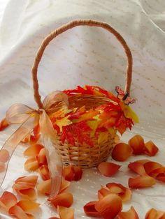 fall flower girl | fall flower girl | More wedding ideas