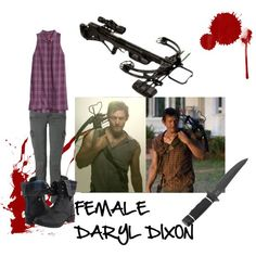 Female Daryl Dixon outfit