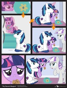 Comic Block: My Secret Weapon by dm29.deviantart.com on @deviantART