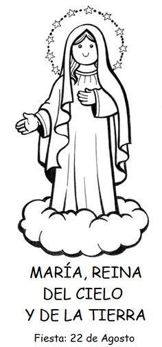 Imagen De Maria Para Colorear Para Ninos Buscar Con Google Virgen Maria Para Ninos Virgen Maria Dibujo Pinturas De Santa