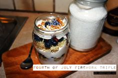 Fourth of July Firework Trifle