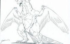 "Archaeopteryx from the unmade ""Godzilla vs. Mechani-Kong"" 1990"