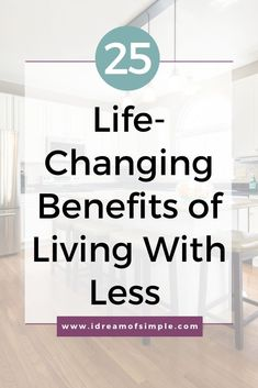 Do you have clutter all over your home causing stress and overwhelm? Here are 25 inspiring reasons that decluttering is good for your home and your life. Minimize the clutter in your home and you will immediately see the life changing benefits in this post. Click over to read the post and start experiencing the benefits of living with less. Simple Blog, Mindfulness Practice, Declutter Your Home, Minimalist Living, Feeling Overwhelmed, Decluttering, Life Changing, Simple Living, My Dream