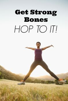 You don't need to spend anything to get stronger bones. All you need to do is jump! #osteoporosis