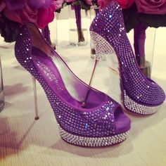 Sparkly purple perfection!!