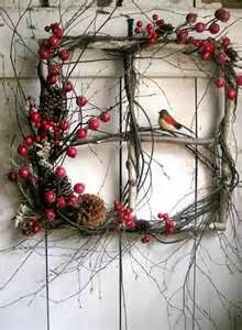 Winter Wreath - Bird & Berries